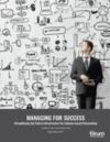 Image of the cover of the Managing for Success report